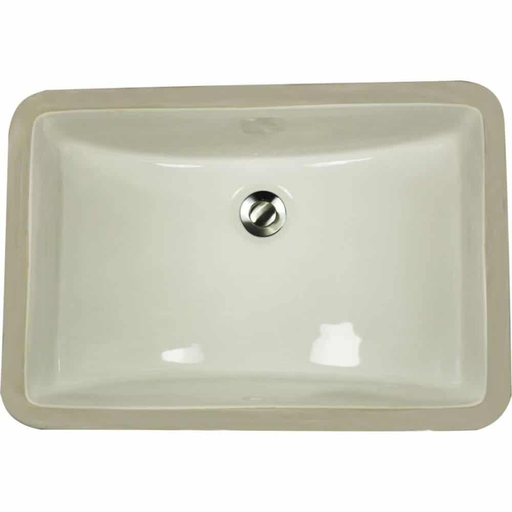 Porcelain Sink Bowl Bisque