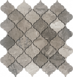 City Gray Arabesque Mosaic Metropolitan Hybrid Collection - Waterjet in west boynton beach, FL