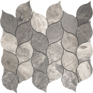 City Gray Leaf Tesoro Mosaic Metropolitan Hybrid Collection - Waterjet in west boynton beach, FL