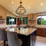 Countertop in a home in Palm-Beach, Florida