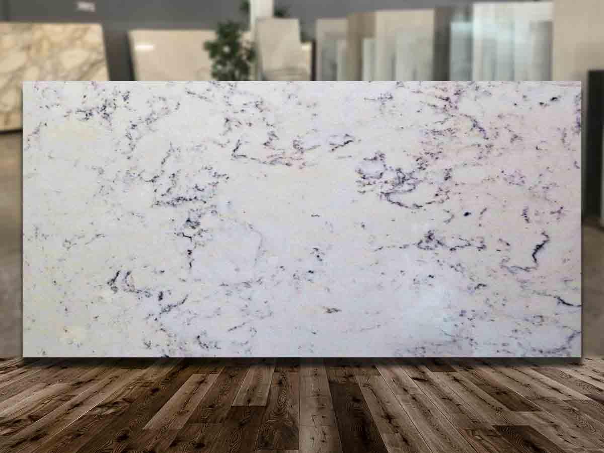 Bianco Carrara Smokey Quartz
