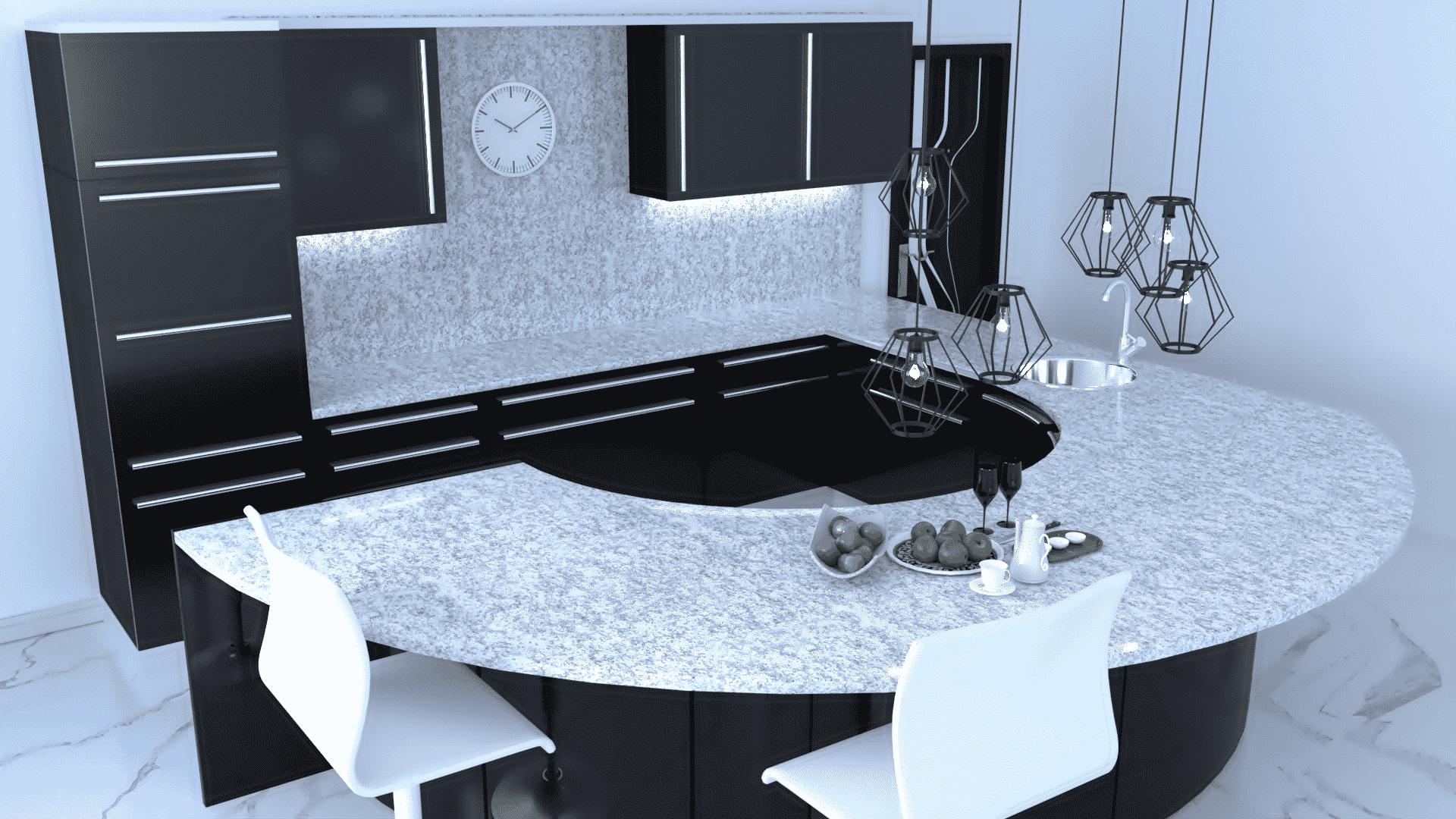 white- granite