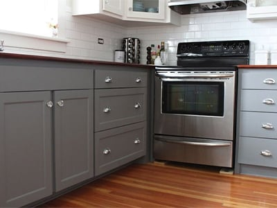 Silver Base Cabinets
